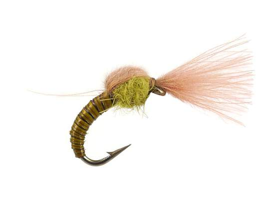Olive Tuft Emerger - Pale Olive