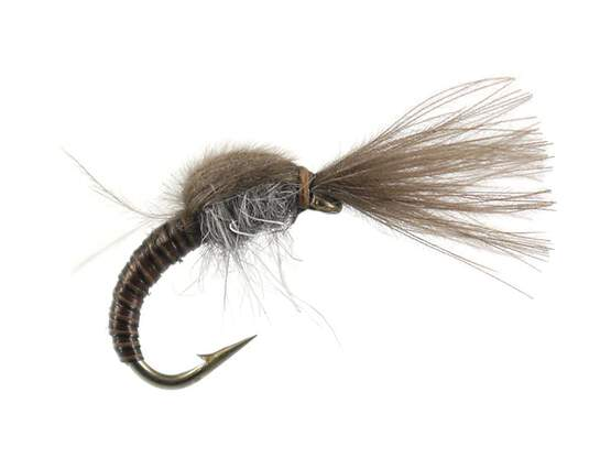 Olive Tuft Emerger - Iron Blue