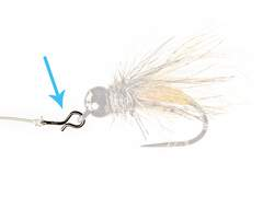 Fly snap OMEGA - 10 Stk.
