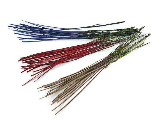 PEACOCK QUILLS HAND STRIPPED hotfly - 25 pc.
