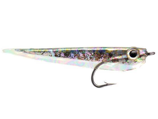 Gummy Minnow - Mottled Oil Slick