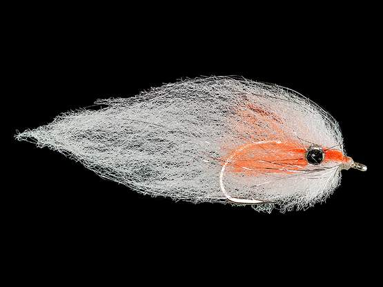 Bait King White Orange