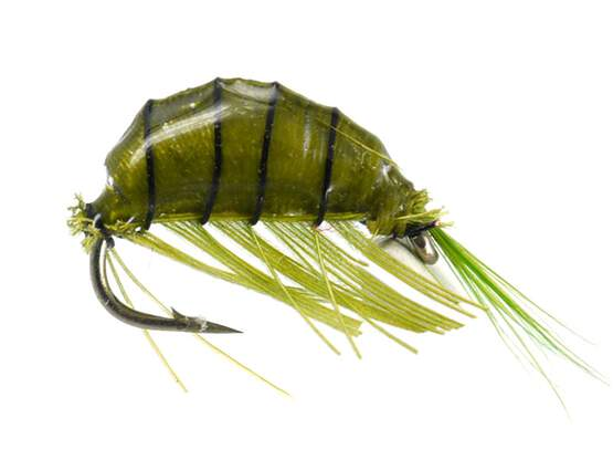 Heavy Epoxy Shrimp Olive