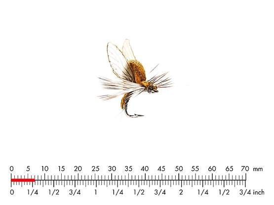Mayfly Emerger E5 Olive Brown 7mm