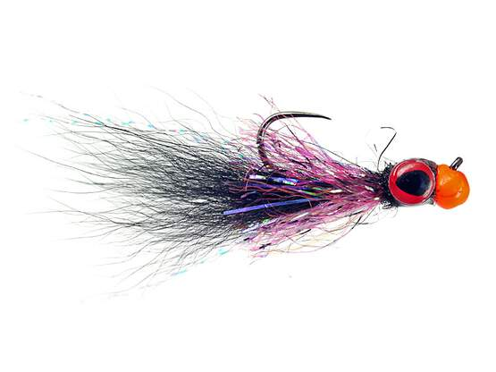 Twaid Shad Streamer Black