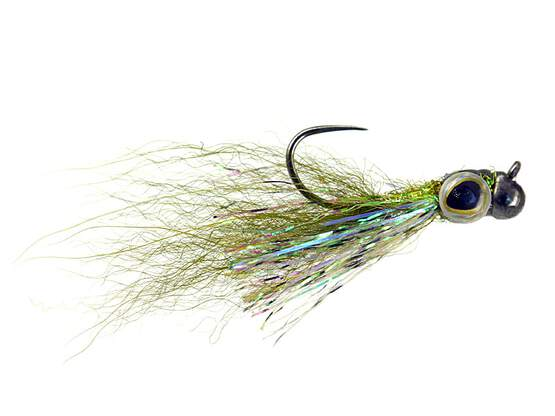 Twaid Shad Streamer Olive