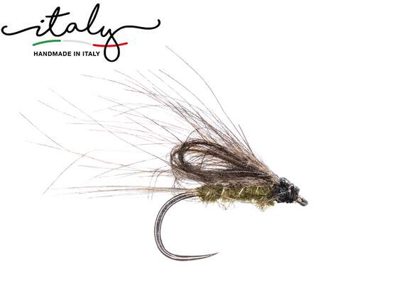 Ales Loopwing CDC Emerger BL Olive