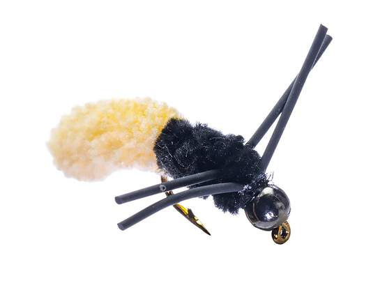 Rubber Leg Mop Fly Cream