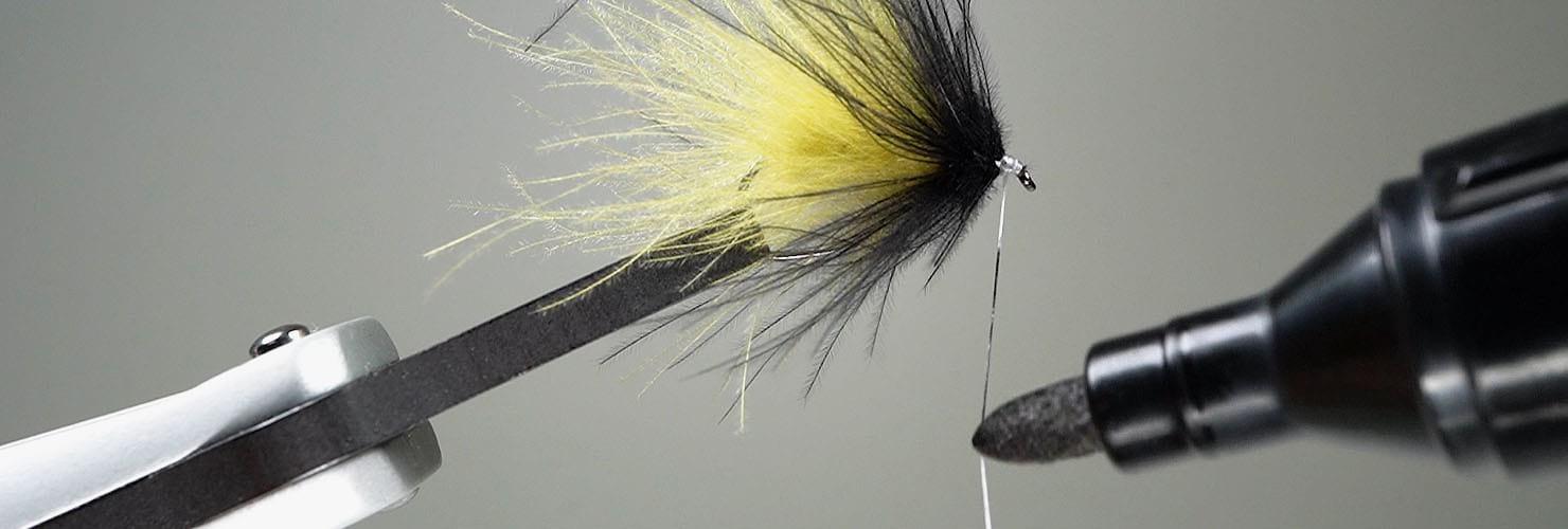 Fliegenbindefaden Angeln Fliegen Streamer Binden Zubehör für Köder Herstellen